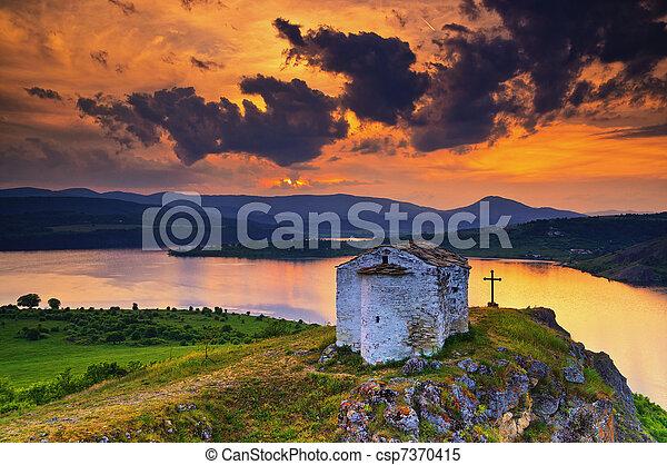 Saint Joan Letni chapel, Bulgaria - csp7370415
