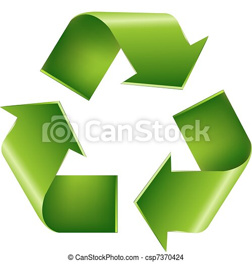 Recycle Symbol - csp7370424