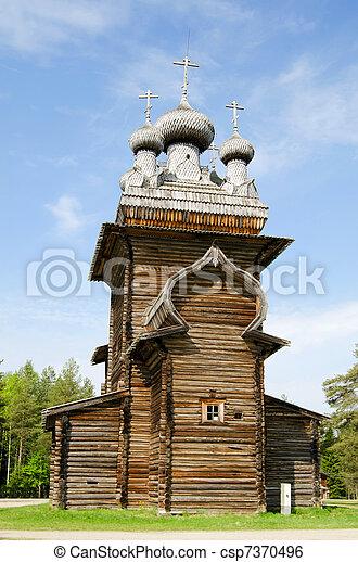Wooden churches - csp7370496