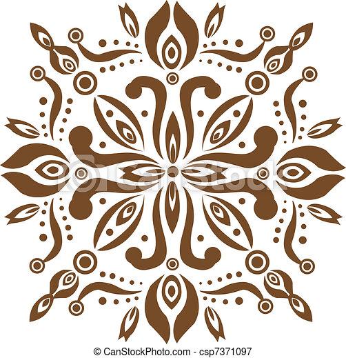 Balinese Pattern - csp7371097