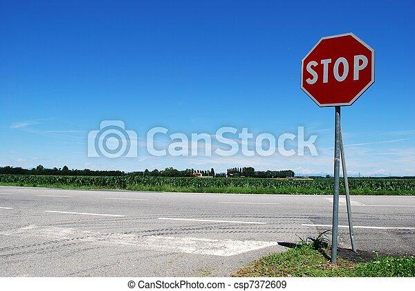 Stop sign - csp7372609