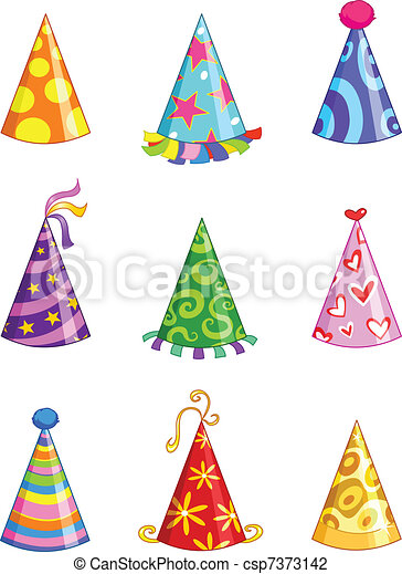 Party hats - csp7373142