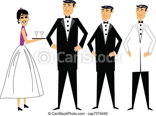 formal attire - csp7374440