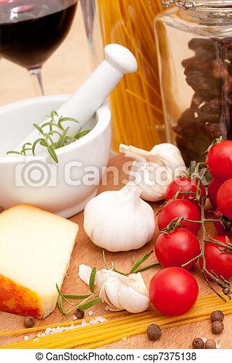 Italian Cuisine - csp7375138