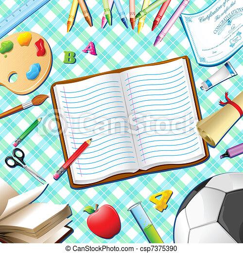 School Kit - csp7375390
