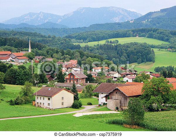 Bavarian idyll - csp7375919