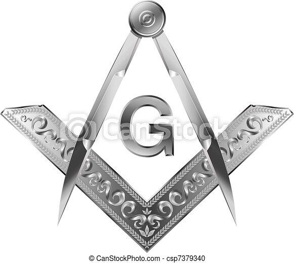 Square & Compass - csp7379340