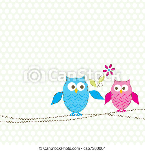 Template greeting card, vector - csp7380004