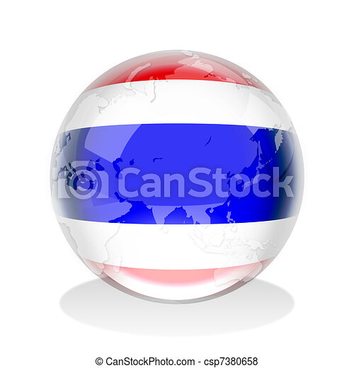 Thailand Crystal Sphere - csp7380658