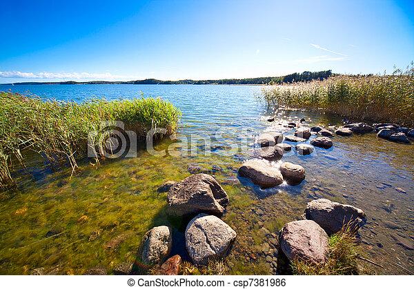 Lake shore - csp7381986