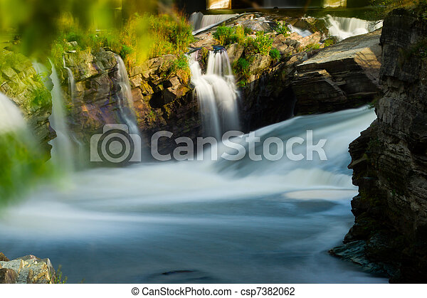 Hog's Back Falls in Ottawa, Canada - csp7382062