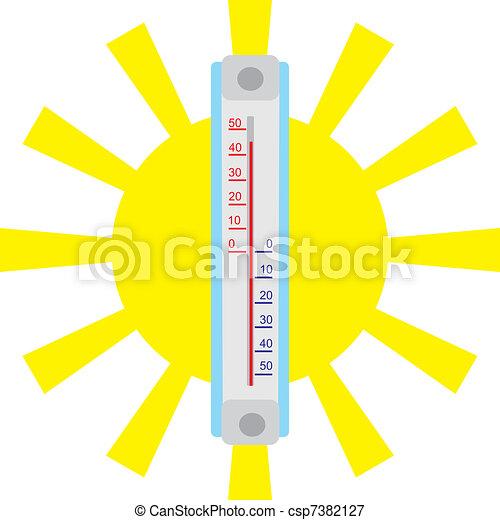Summer heat - csp7382127