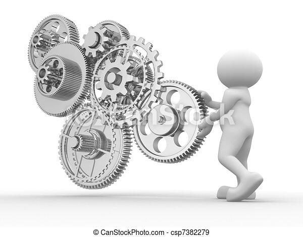 Gear mechanism - csp7382279