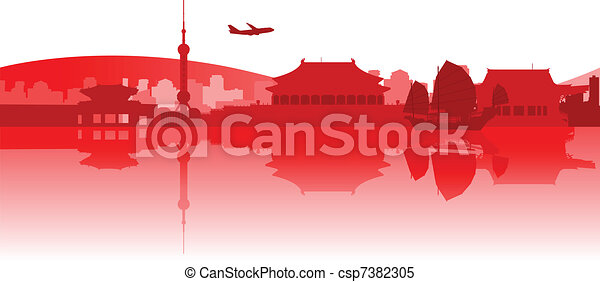 Traveling Around East Asia - csp7382305