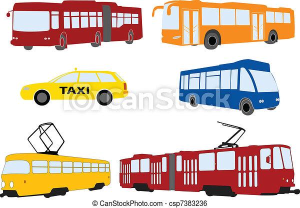 city transportation - csp7383236