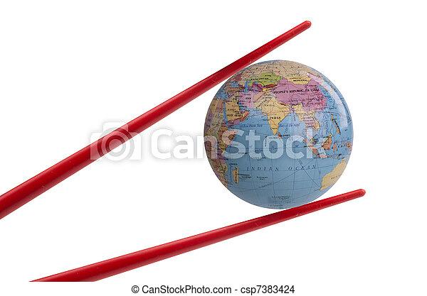 Booming chinese economy - csp7383424