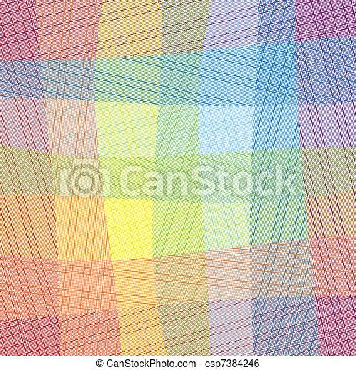 Vector Textile - csp7384246