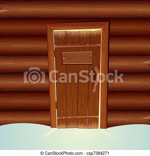 Santa's House - csp7384271