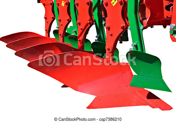 Agricultural machinery  - csp7386210