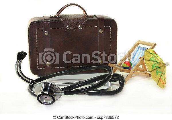 Travel insurance - csp7386572
