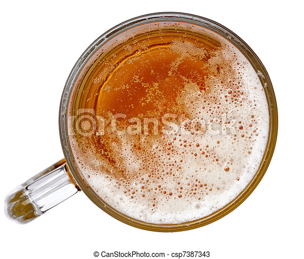 beer foam alcohol drink beverage - csp7387343