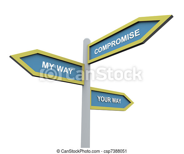 Compromise Clip Art
