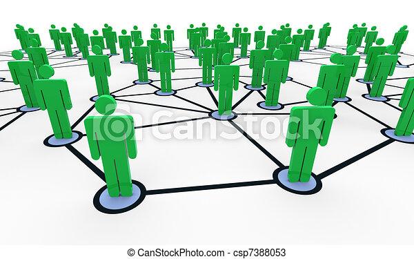 Network concept - csp7388053