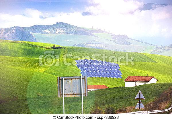 clean energy - csp7388923