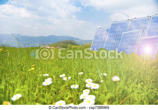 clean energy - csp7388969