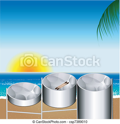 Steel Pan Drums - csp7389010