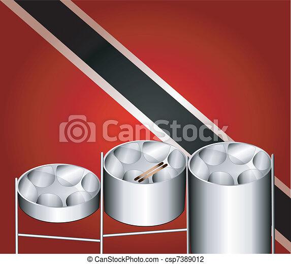 Steel Pan Drums - csp7389012