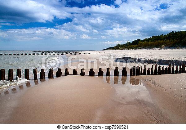 Sea coast - csp7390521