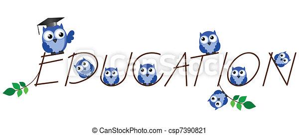 Teacher and pupils  - csp7390821