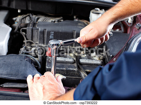 Auto mechanic - csp7393222