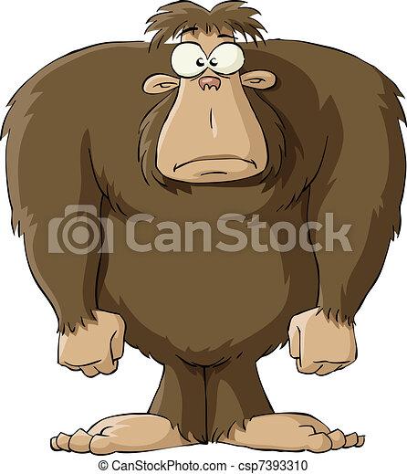 Bigfoot - csp7393310