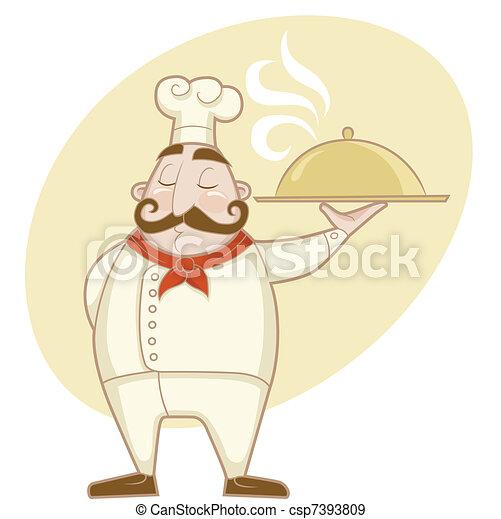 Profession - Chef - csp7393809