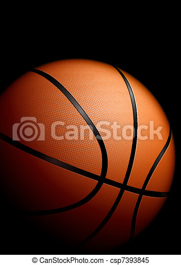 High detailed basketball - csp7393845