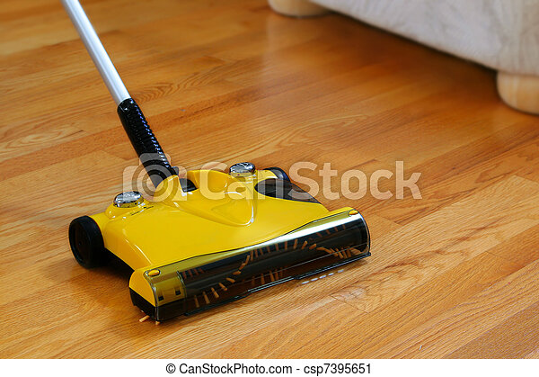 Wood Floor Sweeper - Stock Photography Of Bare Floor Sweeper - Wood Floor Sweeper