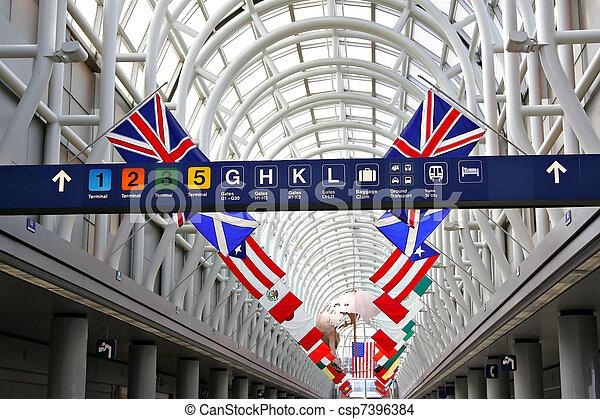 International Airport Terminal - csp7396384