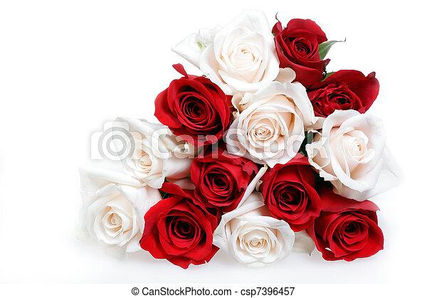 rose bouquet - csp7396457