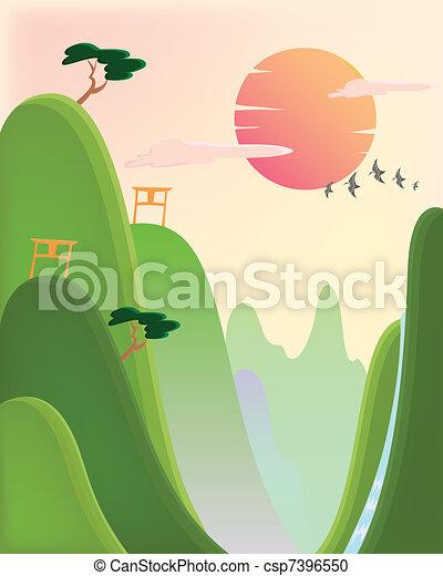 asian nature - csp7396550