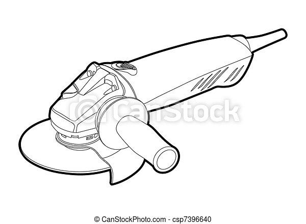 angle grinder - csp7396640