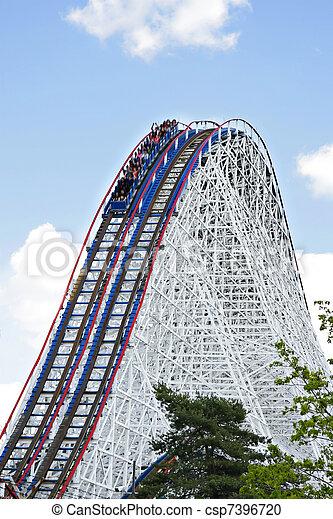 Roller Coaster - csp7396720