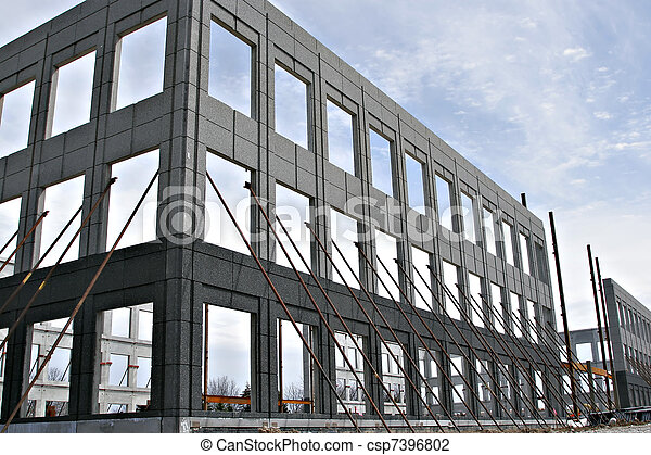 Commercial Construction Structure - csp7396802