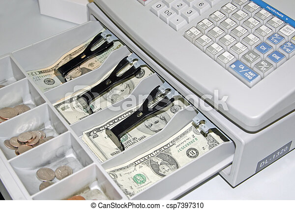 Cash Register - csp7397310
