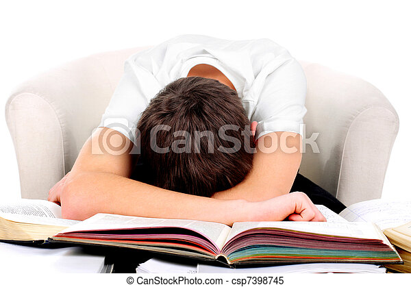 tired student - csp7398745