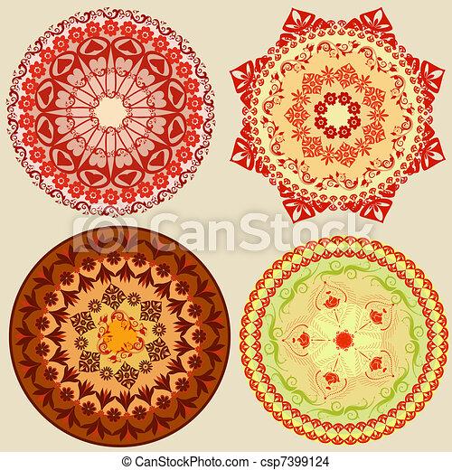 Orientalisk mönster