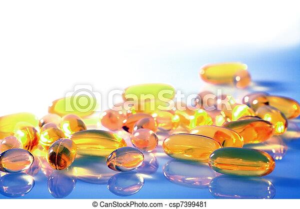 Pills and Capsules - csp7399481