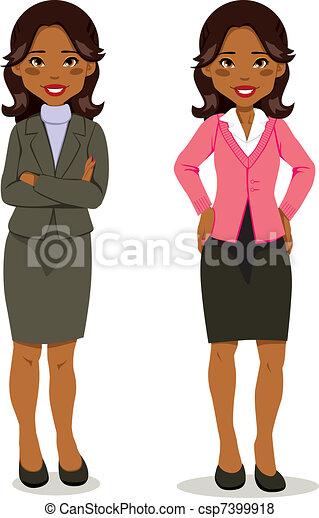 Black Executive Woman - csp7399918