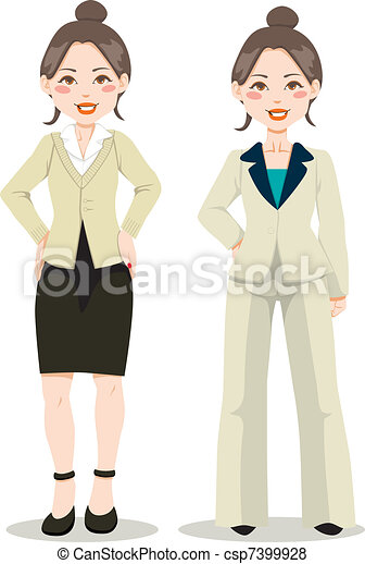Asian Executive Woman - csp7399928